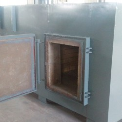 100 kg/hr incinerator for hospital waste
